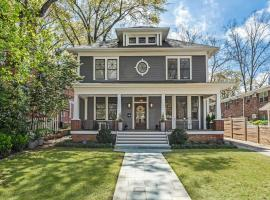 Luxury Midtown Atlanta Home, Walk to Piedmont Park, villa in Atlanta
