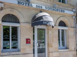 Hôtel des Voyageurs Centre Bastide, hôtel à Bordeaux
