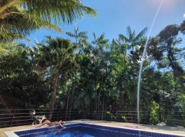 Paraty Bike Park - Chalé, hotel perto de Quilombo do Campinho, Paraty