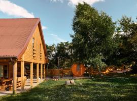 Biker's House – hotel w pobliżu miejsca Stadion Miejski w Gniewinie w mieście Nadole