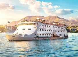 Champollion II Nile cruise, boat in Luxor