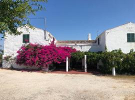 Agroturisme Binisaid NOU, country house in Cala Galdana