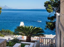 Mirni kutak, beach hotel in Selca