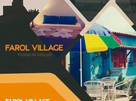 Chalés Farol Village, guest house in Fortim