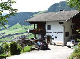 Haus Bergleiten, Ferienwohnung in Alpbach