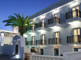 Virginia Hotel, hotel near Livada Beach, Tinos Town