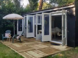 Boutique zomerhuis De groene Parel, holiday home in Schoorl