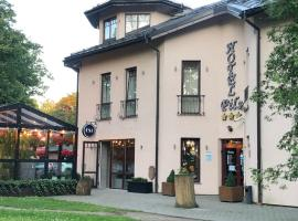 Hotel Pils with Self-Check in, hotel in Sigulda