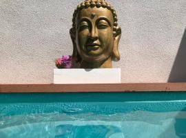 Apartments LOTA,Heated pool TOP location, luxury hotel in Supetar