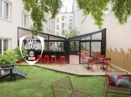 Hotel Izzy by HappyCulture, hôtel à Issy-les-Moulineaux
