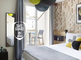 Hotel Bootcamp by HappyCulture, hôtel à Issy-les-Moulineaux
