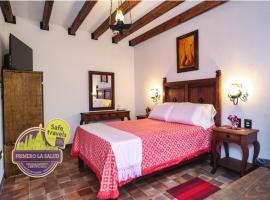 El mesón del Quijote, hotel en San Miguel de Allende