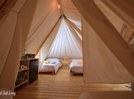 Rovinj Bell Tents, luxury tent in Rovinj