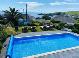 Tremarne Hotel, hotel with pools in Mevagissey