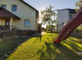 Apartments by the lake with fireplace, hotel in Trakai