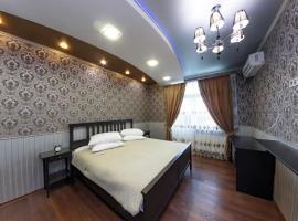 at home евро 2ая вид на стадион, hotel with jacuzzis in Krasnodar