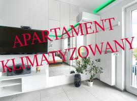 Good Day Apartments- private parking new town, apartment in Szczecin