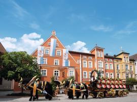 Hotel zum Erdinger Weissbräu, Hotel in Erding