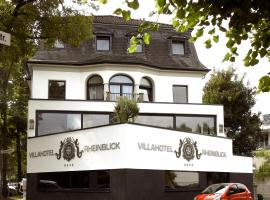 Villahotel Rheinblick, boutique hotel in Cologne