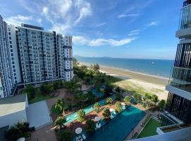 Timurbay Seafront Residence aRRayyan Suites, apartment in Kuantan