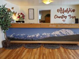 Alaska Country Inn、Delta Junctionのホテル