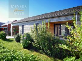 Kuschelige Ferienwohnung - LIV - Holzferienhaus in Zierow, Wismar, Ostsee - Strand 500m - 4 Personen - 2 Schlafzimmer, apartment in Zierow