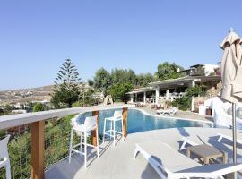Albatros Club Mykonos, hotel near Livada Beach, Panormos Mykonos