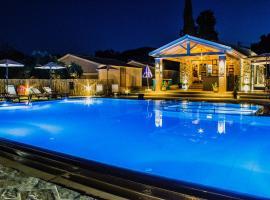 Astrakeroula Corfu, hotel with pools in Astrakeri