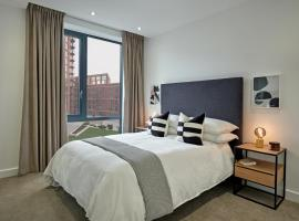 Manchester Media City by Charles Hope, apartment in Manchester