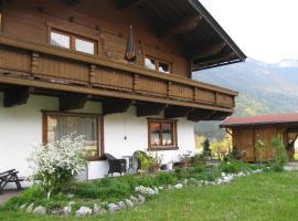 Ferienwohnungen Hauser, Hotel in der Nähe von: Steinplattenbahn, Waidring