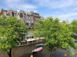 Amstel River View Amsterdam Center, apartment in Amsterdam