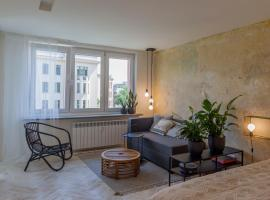 Uni Apartament – hotel w pobliżu miejsca Stacja kolejowa Łódź Fabryczna w Łodzi