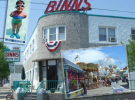 Binns Motor Inn, hotel in Wildwood