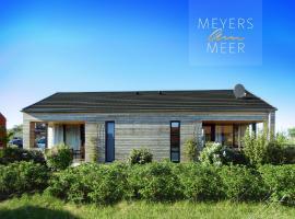 Kuschelige Ferienwohnung -- JO -- Holzferienhaus in Zierow nahe Wismar, 500 Meter zum Ostsee Strand, 4 Personen, alles inklusive, apartment in Zierow