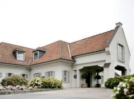 Hostellerie Klokhof, hotel in Kortrijk