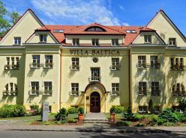 Hotel Villa Baltica, hotel in Sopot