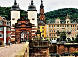 City Partner Hotel Holländer Hof, hotel in Heidelberg