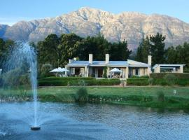 La Cabriere Country House, country house in Franschhoek