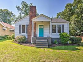 Updated Greenville Home with Yard Near Downtown!, vacation rental in Greenville