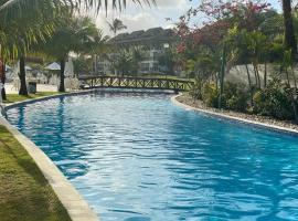 Beach class Muro Alto Flat, hotel with jacuzzis in Porto De Galinhas