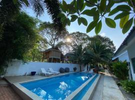 The Fint Hus Villa, boutique hotel in Pantai Cenang