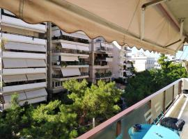 Peaceful Apartment by Flisvos Marina - Athenian Home, hotel in Athens