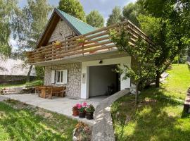 SanMari_forest, cabin in Ledenice