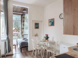 Duszniki-Zdrój Przytulny Apartament z Tarasem, apartment in Duszniki Zdrój