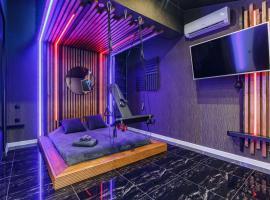 HouseX, hotel with jacuzzis in Krasnodar