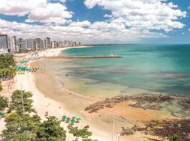 Flat na Beira Mar Vista Frente Mar 10ª Andar, apart-hotel em Fortaleza
