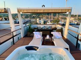 Sirena Floating House Portorož, počitniška hiška v Portorožu