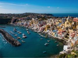 Alle Cascine, self catering accommodation in Procida