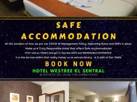 Hotel Westree KL Sentral, hotel in Brickfields, Kuala Lumpur
