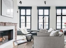 MAISON12 - Design apartments with terrace and view over Ghent towers, apartment in Ghent
